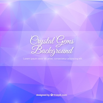 Polygonal background in purple color