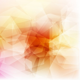Polygonal background, warm tones