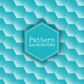 Polygonal background with blue hexagons