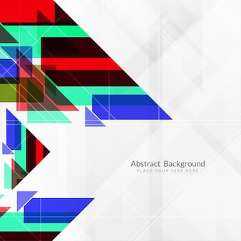 Polygonal background with combined geometric shapes
