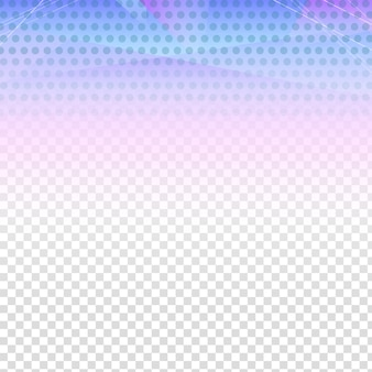 Polygonal background with dots