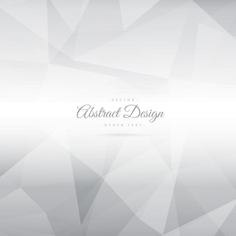 Polygonal background with gray tones
