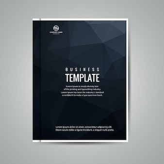 Polygonal business booklet