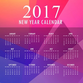 Polygonal calendar