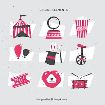 Polygonal circus elements