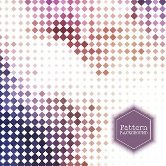 Polygonal halftone background