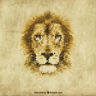 Polygonal lion