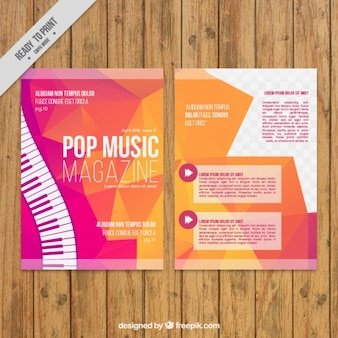 Polygonal music magazine