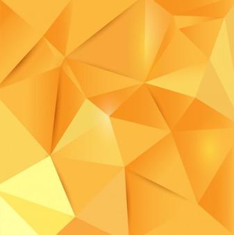 Polygonal Yellow Background
