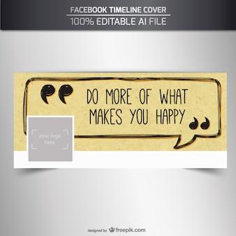 Positive facebook cover
