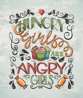 Poster Hungry Girls