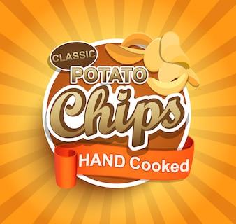 Potato chips label.