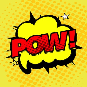 Pow expression background