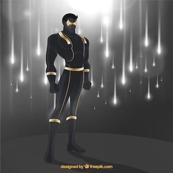Powerful superhero