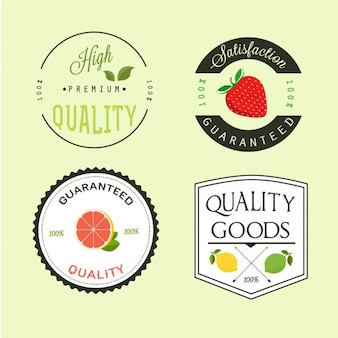 Premium fruit labels