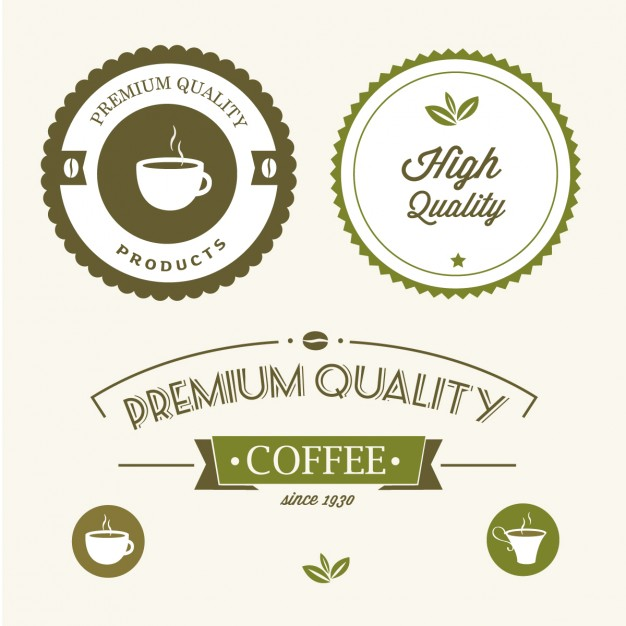 Premium quality green labels