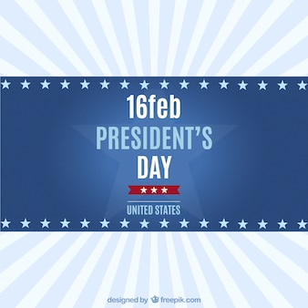President's Day Background vector