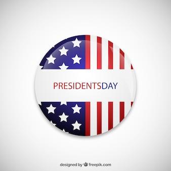 Presidents day badge