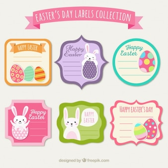 Pretty easter's day stickers