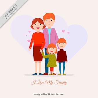 Pretty family background