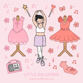 Pretty little ballerina
