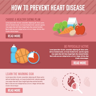Prevent heart disease background
