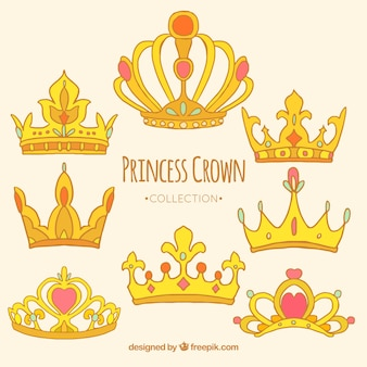 Princess crown collection