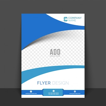 Promotion cover abstract professional company