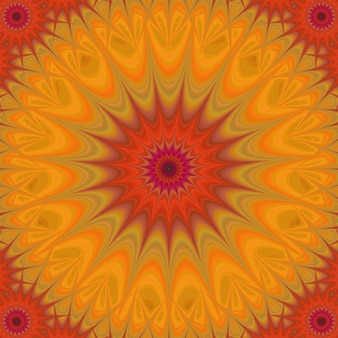 Psychedelic orange background