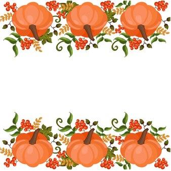 Pumpkin background design