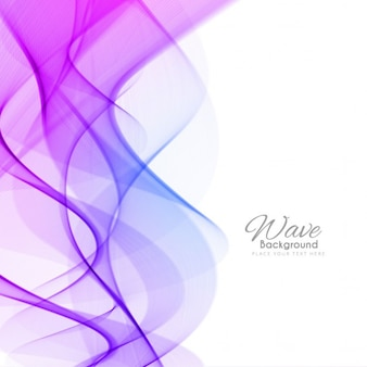 Purple abstract background, wave effect