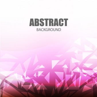 Purple abstract background with white triangles