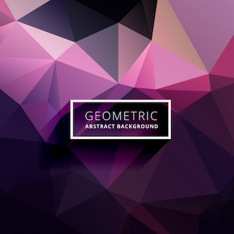 Purple abstract low poly background