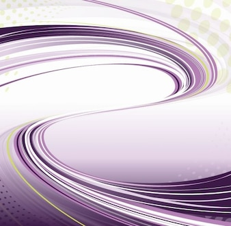 purple background with flowing lines vector