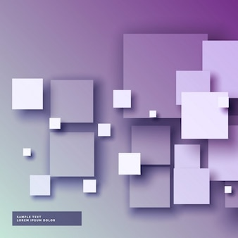 Purple background with squares