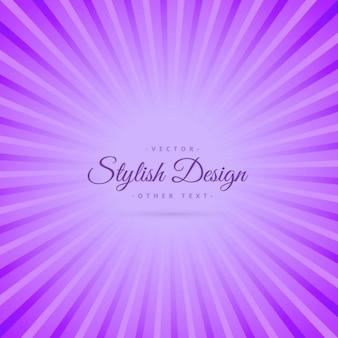 Purple background with sunburst