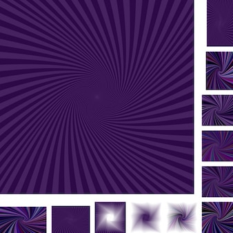 Purple backgrounds with rays