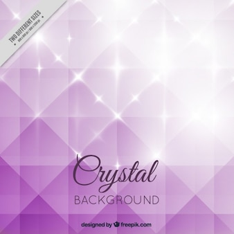 Purple bright crystal background