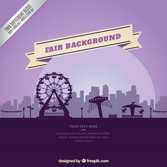 Purple fair background