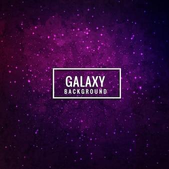 Purple galaxy background