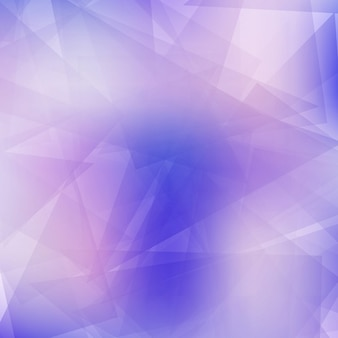 Purple geometric background with crystals