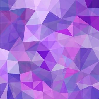 Purple geometric mosaic background