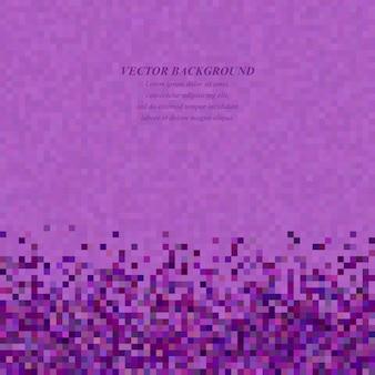 Purple mosaic vector background