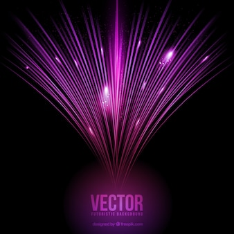 Purple optical fibre background