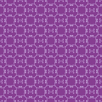 Purple ornamental pattern