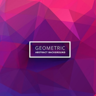 Purple pink abstract polygonal background