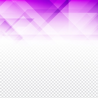 Purple polygonal background with transparencies