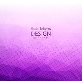 Purple polygonal background