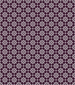 Purple Seamless Vector Pattern Background