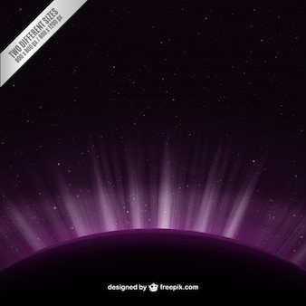 Purple space background